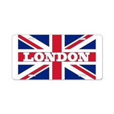 London1 Aluminum License Plate