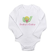 Unique Golfer girls Long Sleeve Infant Bodysuit
