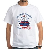 Little Sailboat 2nd Birthday Shirt