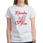 Rhonda On Fire Women's T-Shirt