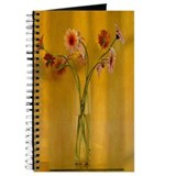 Vintage Chick Gerbera Still Life Gardening Journal