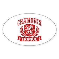 Chamonix France Decal