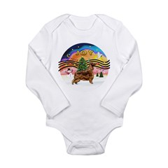 XMusic2-Irish Setter Long Sleeve Infant Bodysuit