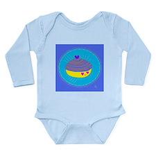 clam Long Sleeve Infant Bodysuit