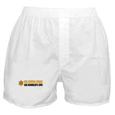Gun Control Works Boxer Shorts