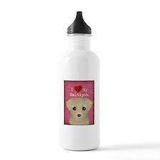 Maltipoo Water Bottle
