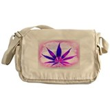 Pink Grunge Messenger Bag