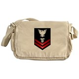 Navy PO2 Dental Technician Messenger Bag