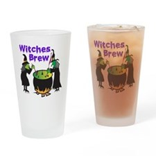 Witches Brew Drinking Glass