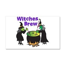 Witches Brew Car Magnet 20 x 12