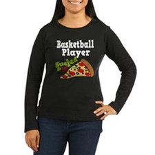 Basketball Player Funny Pizza T-Shirt