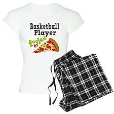 Basketball Player Funny Pizza pajamas