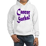 Cancer Sucks Purple! Hoodie