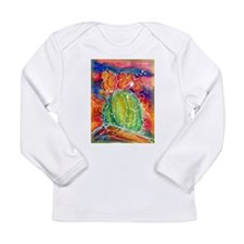 Cactus, Southwest art! Long Sleeve Infant T-Shirt