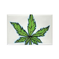 weedpals leaf design Rectangle Magnet