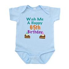 Wish me a happy 65th Birthday Onesie