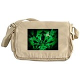 Smoke Green Messenger Bag