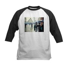 Caillebotte Paris Street Rainy Day Tee