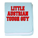 Little Austrian Tough Guy baby blanket