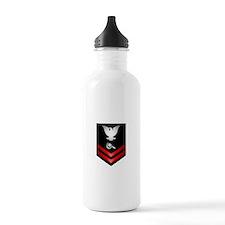 Navy PO2 Machinery Repairman Water Bottle