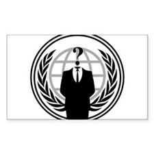 Anonymous Sticker (Rectangle)