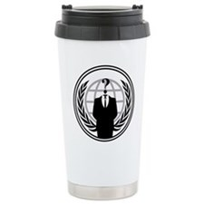 Anonymous Ceramic Travel Mug