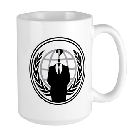 Anonymous Large Mug