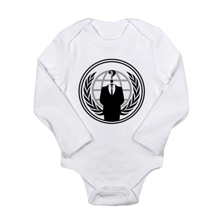 Anonymous Long Sleeve Infant Bodysuit