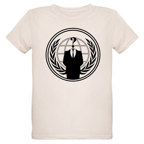 Anonymous Organic Kids T-Shirt
