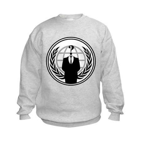 Anonymous Kids Sweatshirt