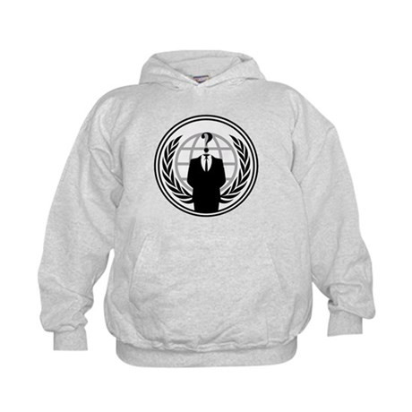 Anonymous Kids Hoodie