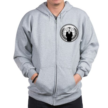 Anonymous Zip Hoodie