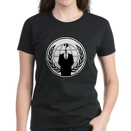 Anonymous Womens T-Shirt