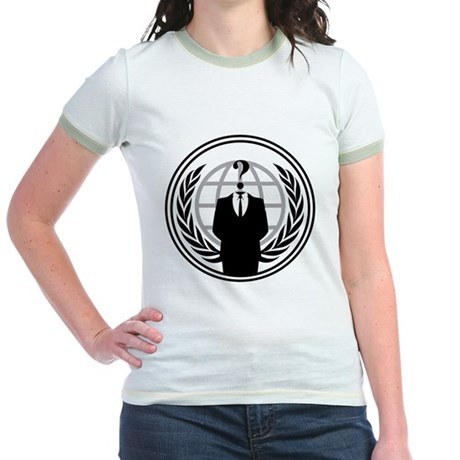 Anonymous Jr Ringer T-Shirt
