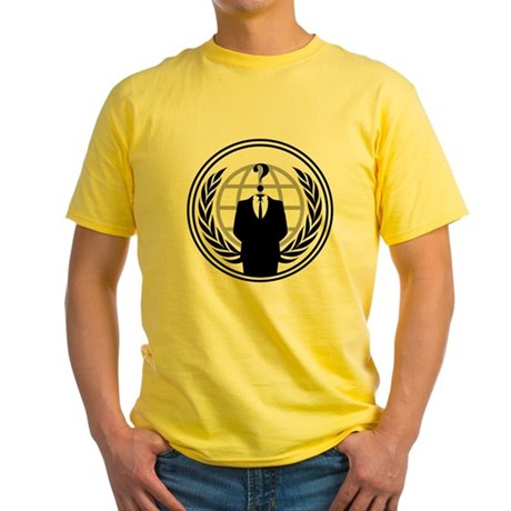 Anonymous Yellow T-Shirt