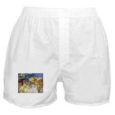 Paul Cezanne Fruit Basket Still Life Boxer Shorts