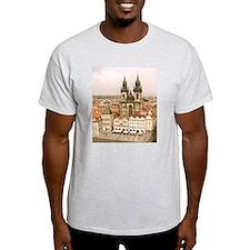 Cute Prague old town T-Shirt