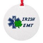 Irish EMT Round Ornament