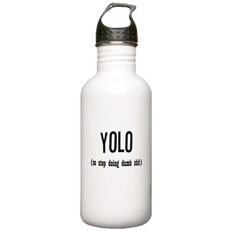 Funny YOLO Stainless Water Bottle 1.0L