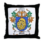 Mihill Coat of Arms Throw Pillow