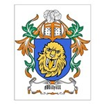 Mihill Coat of Arms Small Poster