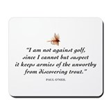 Not against golf... Mousepad