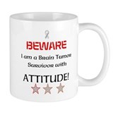 Brain Tumor Survivor with Attitude Mug