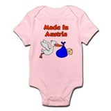 Made In Austria Boy Infant Bodysuit