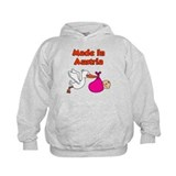 Made In Austria Girl Hoodie