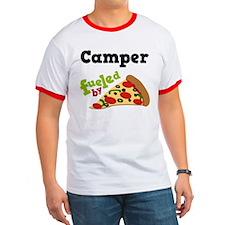 Camper Funny Pizza T