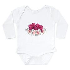Hibiscus Arrangement Baby Suit