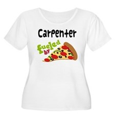 Carpenter Funny Pizza T-Shirt
