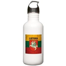 Vintage Lithuania Sports Water Bottle