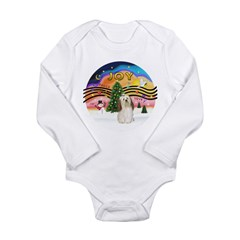 XMusic2-Havanese Long Sleeve Infant Bodysuit